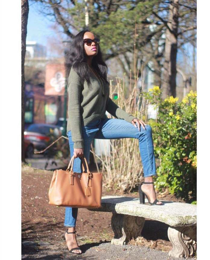 KOKOnista Of The Day: Nini Udochu Looks Amazingly Gorgeous In Every Outfit She Rocks 5