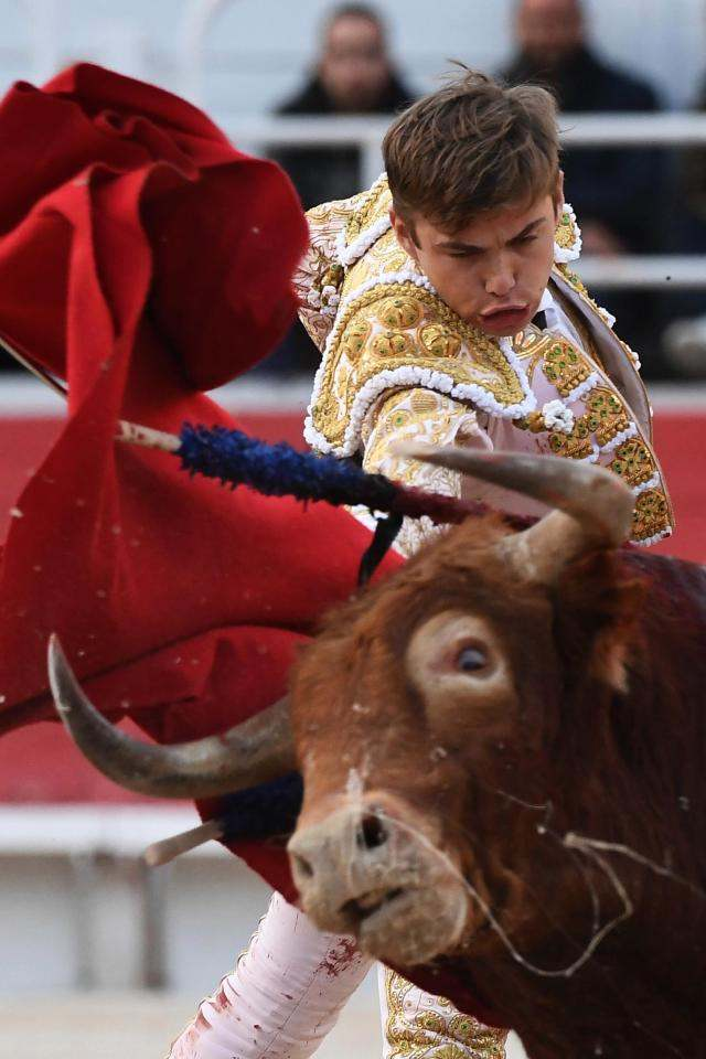 Shocking Moment Bullfighter Andy Younes Is Gorged By A Raging Bull 5