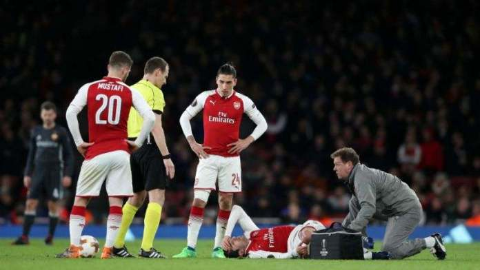This Arsenal Star Sustained A Long-Term Injury In Their Europa League Victory On Thursday 3
