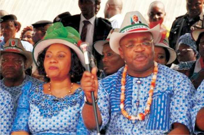 A Kind Heart! Akwa Ibom State Governor's Wife, Mrs Martha Emmanuel Builds 24 Houses For Widows 2
