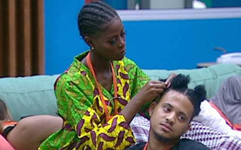 #BBNaija: Khloe In Tears Because Rico Didn't Come Upstairs With Her 1