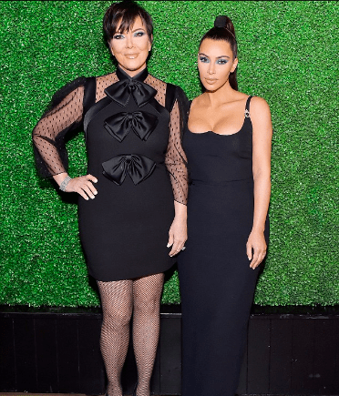 Style Stalking! Kim Kardashian Flaunts Major Cleavage In Jaw-Dropping Black Dress 4