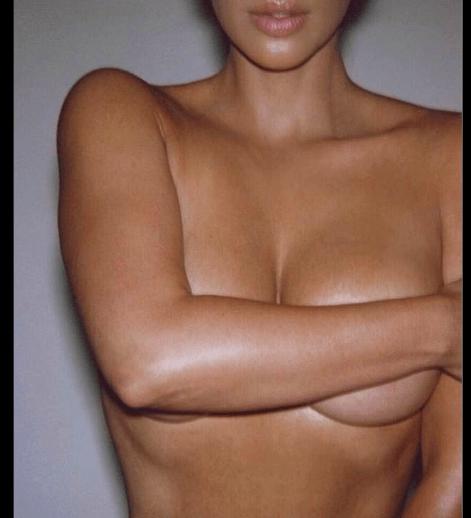 Kim Kardashian Poses Topless In Super-Sexy Photo 3
