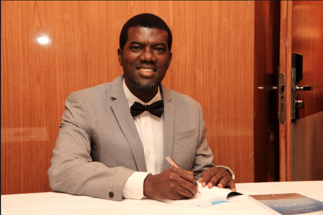'If You Call Your Spouse Honey, Your Love Will Never Decay' - Reno Omokri 1