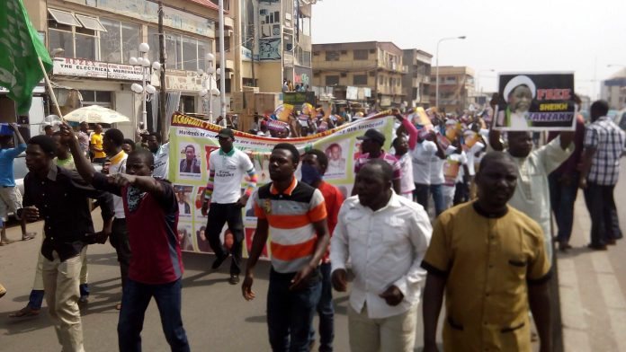 Protest: 400 Shi'ite Members Arrested And Detained In Abuja 3