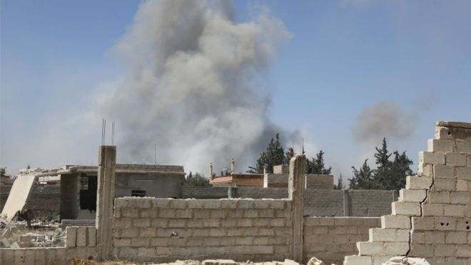 Just In: 70 Civilians Killed In Syria Chemical Weapons Attack, Rescuers And Medics Confirm 3