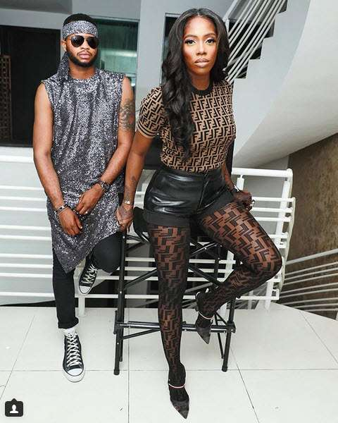 Style Stalking: Tiwa Savage Is Smoking Hot In Fendi Leather Shorts 2