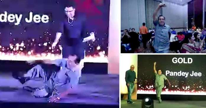 Sad! Watch This Bollywood Actor, Vishnu Pandey, As He Died After Dancing On-Stage To Collect His Award 2
