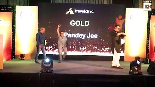 Sad! Watch This Bollywood Actor, Vishnu Pandey, As He Died After Dancing On-Stage To Collect His Award 1