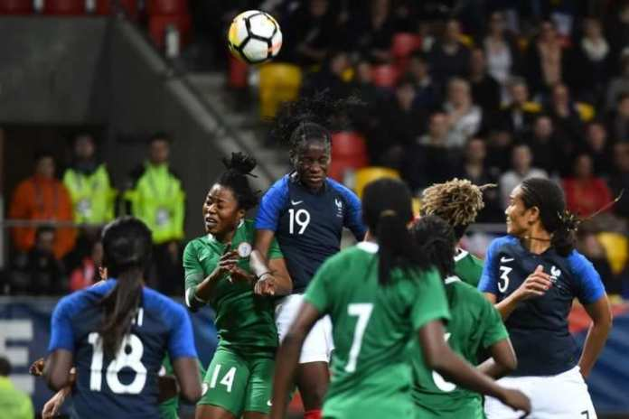 Asisat Oshoala Reacts To The Super Falcons 8-0 Loss to France 1
