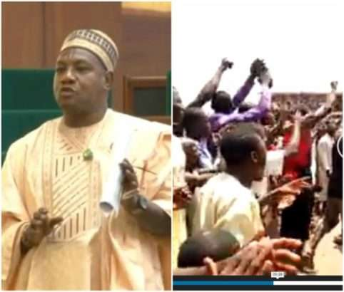 Angry Constituents Stone House Of Representatives Member In Taraba 1