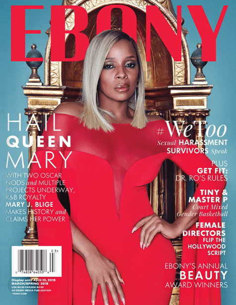 Mary J. Blige Is A Stunner On The Cover Ebony Magazine's Latest Issue 1