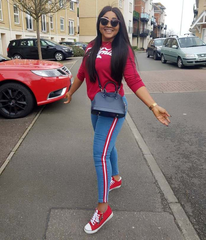 Twinning! Mercy Aigbe And Daughter Are Flawless In Matching Outfits 2