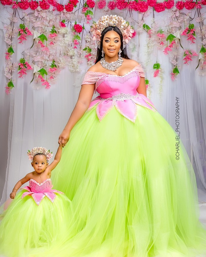 """She's One!"" Mimi Orjiekwe Celebrates Her Daughter's 1st Birthday In Style 2"