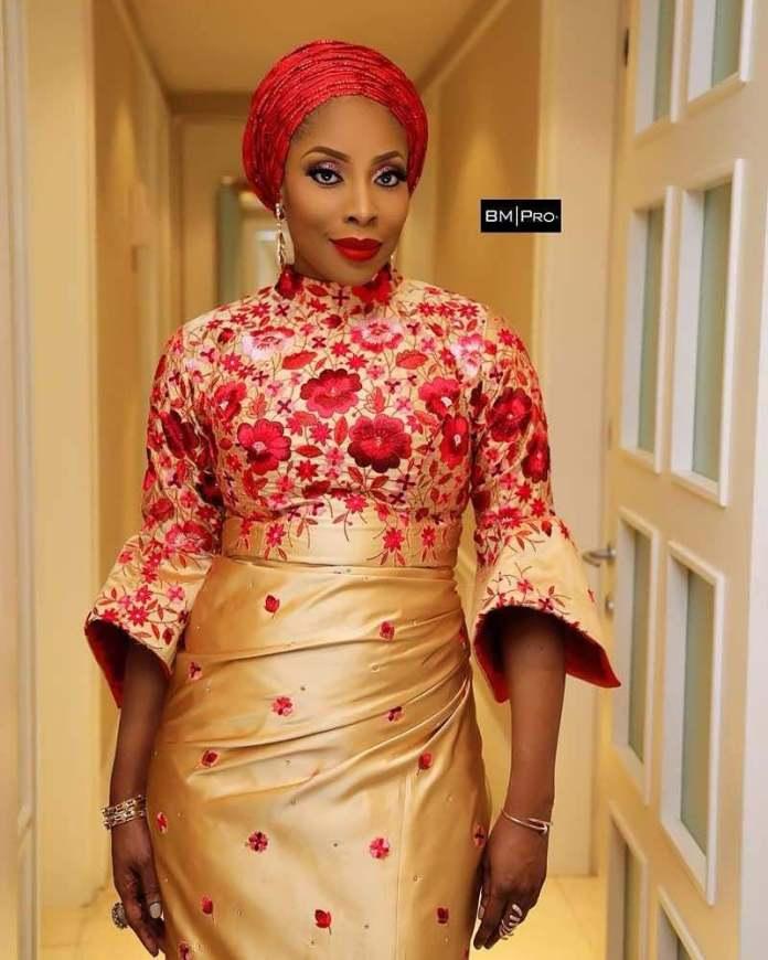 Who What Wear: Mo Abudu Stuns In Lanre Da-Silva Ajayi's Floral Silk Dress 2