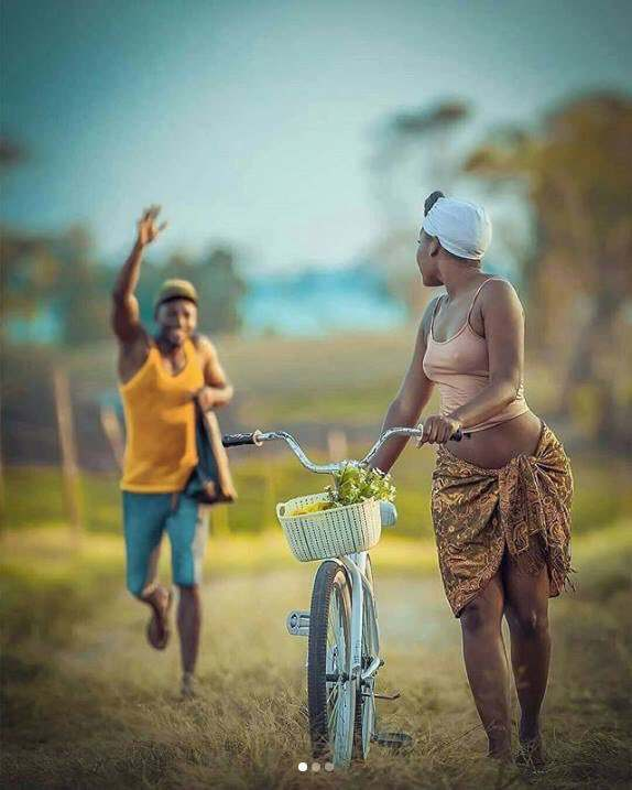 Wow! This Pre-Wedding Photos Melt Hearts With Its Creative Cultural & African Setting 1