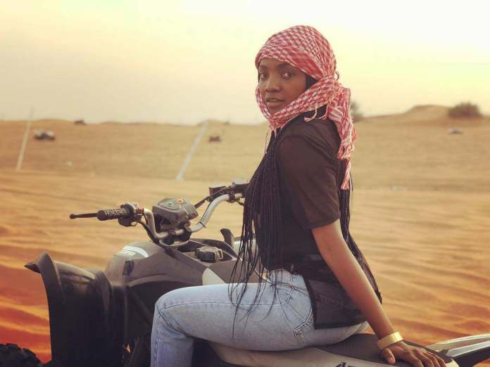 See Simi's Reaction To Noble Igwe Pointing Out Major Fraud Fronts In Nigeria 1