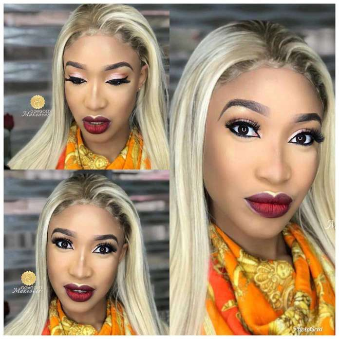 Celebrity Beauty Of The Day: Tonto Dikeh Is A Stunner In New Makeup Photos 1