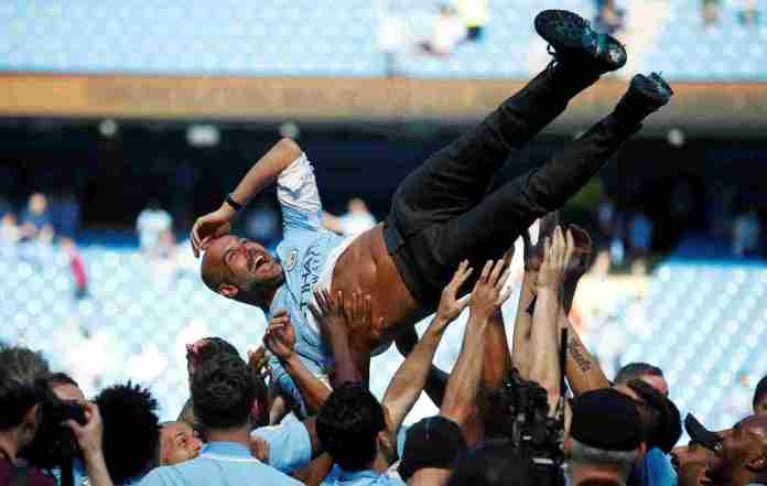 Manchester City Lift Trophy After Goalless Draw With Battling Huddersfield 3