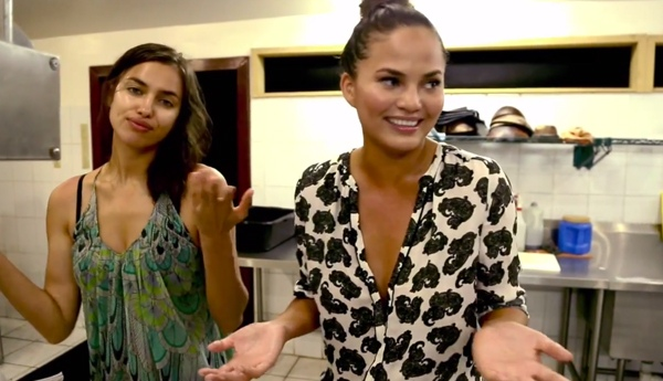 Aww! Chrissy Teigen And Irina Shayk Blush Over Each Other On Social Media 1
