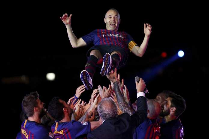 #InfinitIniesta: A Difficult Day But Wonderful 22 Years - Andres Iniesta Admits After Last Game In Barcelona Jersey 3