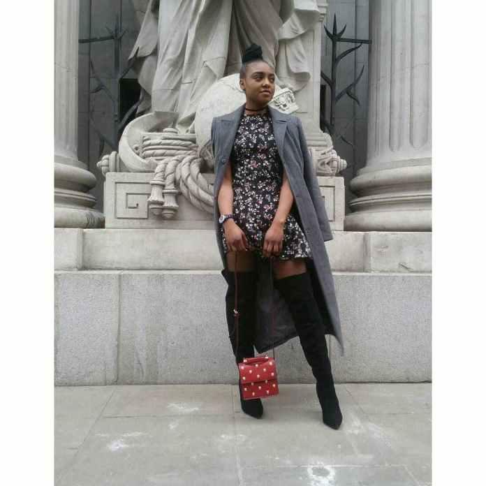 KOKOnista Of The Day: Oluwa Damisola Takes Tomboy Style To A Whole New Level 3