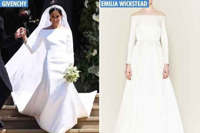 This Is What Happened To Designer Emilia Wickstead's Social Media Account After Claiming Meghan Markle's Wedding Gown Was A Rip Off 2