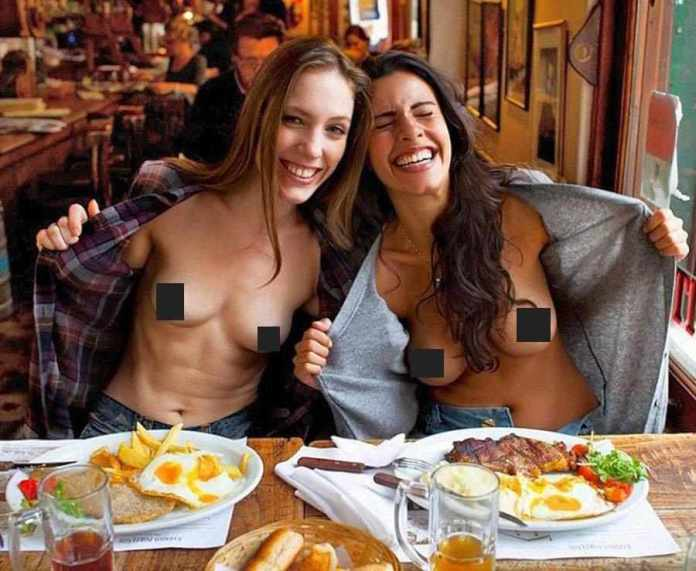 Naked Dining Is The Bizarre New Internet Trend...Will You Be Stripping Off To Have Your Meals Too? 8