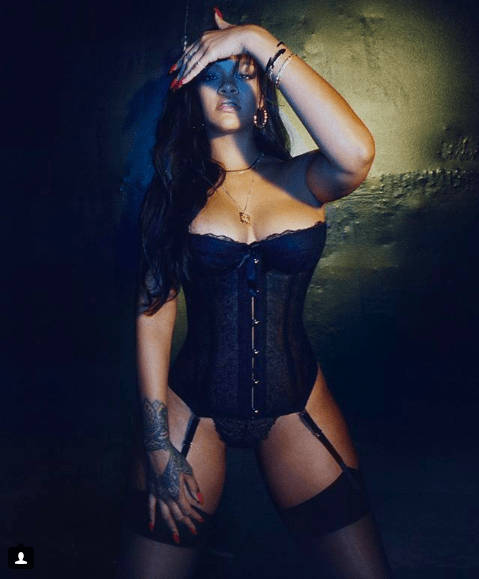 The Insider: Rihanna Shows Off A Sexy Piece From Her Savage X Lingerie Line 1