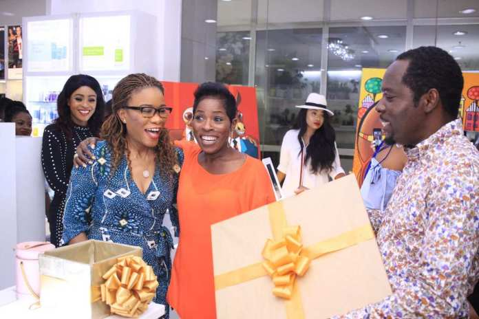See How Newly-Wed Mo'Cheddah, Gordons & More Stars Step Out For Urban Art Series In Lagos 1