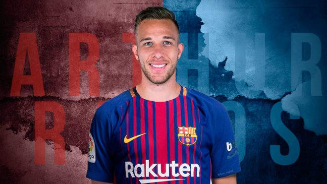 6190e373242 Barcelona Complete Signing Arthur From Gremio On Six-Year Contract