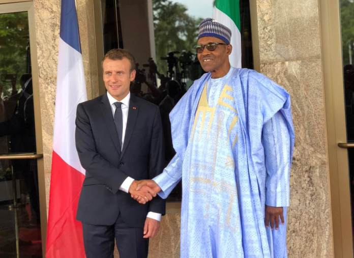 Buhari Macron insecurity