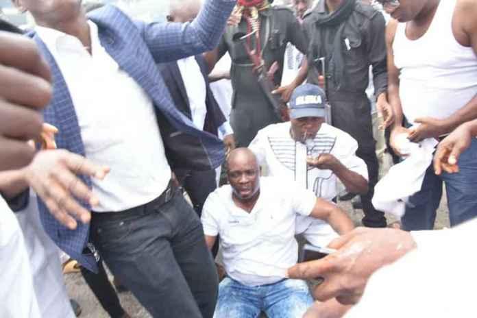 Ekiti 2018: Heavy Shooting Near Ekiti Government House, Fayose Teargassed! 1