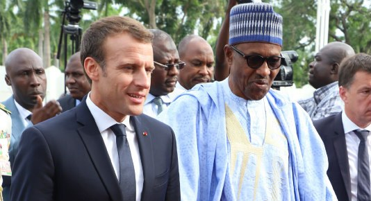 """We Can't Solve Nigeria's Insecurity Problem"" - President Macron Replies Buhari 3"