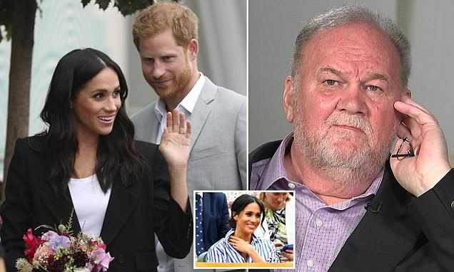 No, No, No...Meghan Markle 'Afraid To Reunite With Her Father Over Fear He Will Leak Royal Conversations' 1