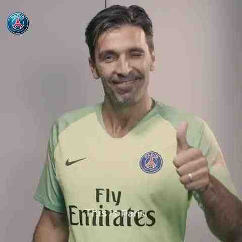 d2b2bbb4171 French champions Paris Saint-Germain have taken to social media to confirm  the signing of Italian legend Gianluigi Buffon on a free ...