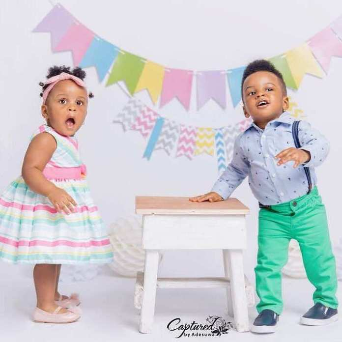 KOKO Junior: Paul Okoye Shares Cute Photos Of Himself And His Twins Nadia and Nathan 3