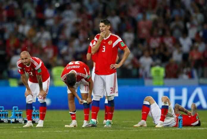 Russia 2 Croatia 2 (3-4 Pens): Croatia Beat Hosts On Penalties...To Face England In Semi-final 7