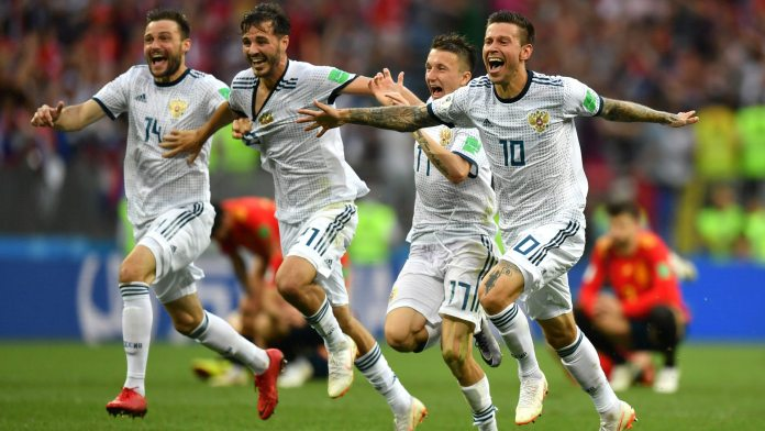 Well Done Boys! Putin Congratulate Russian Team After Historic Victory Over Spain 1