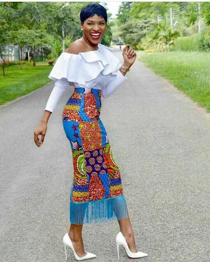 Ankara Styles: Spot Your Style With Fringe And Stones This Weekend 2