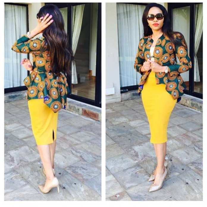 Ankara Style: Express Your Class And Elegance In Corporate Wears 2