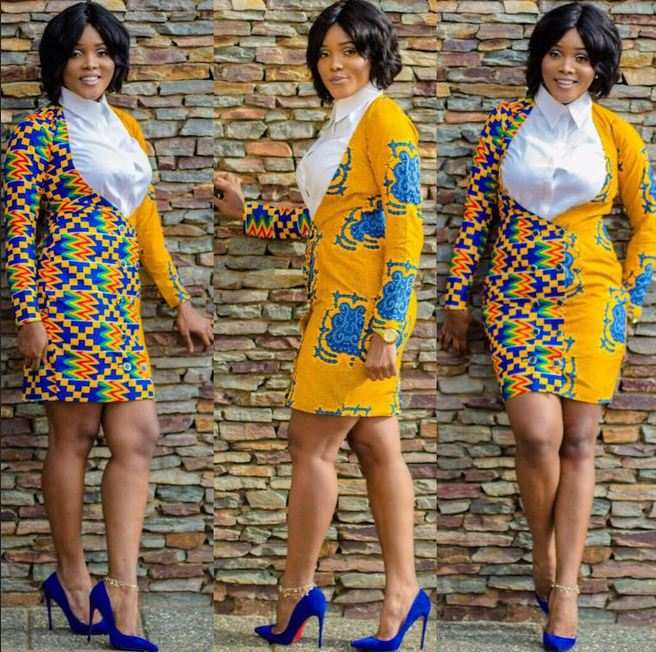 Ankara Style: Express Your Class And Elegance In Corporate Wears 3