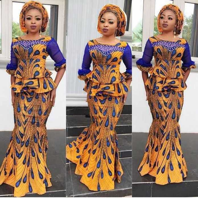 Ankara Styles: Spot Your Style With Fringe And Stones This Weekend 4