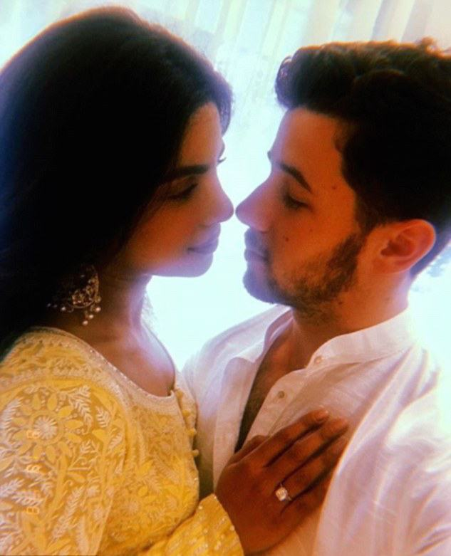 Roka! Nick Jonas And Priyanka Chopra Confirm Their Engagement With Traditional India Ceremony 2