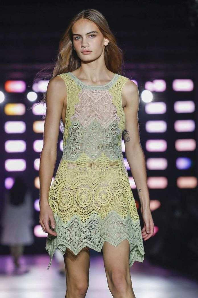 Alberta Ferretti Ready To Wear Spring/Summer 2019 At The Milan Fashion Week 9