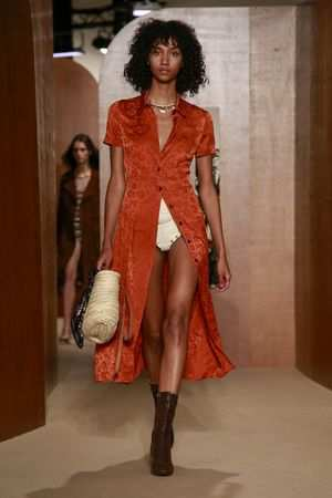 ALEXACHUNG Spring Summer 2019 Collection At LFW 21