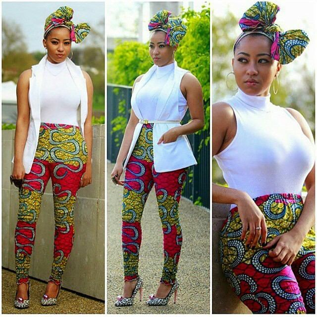 Ankara Style: Turn Heads In Stunning Vibrant Trouser Designs 10