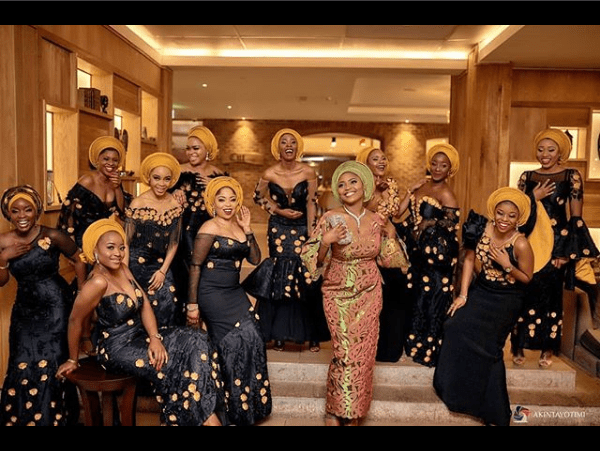 Aso Ebi Styles: Latest Style Inspirations For The Aso Ebi Ladies Gang