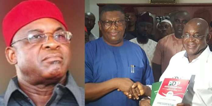 Revealed! This Is The Reason David Mark Joined The 2019 Presidential Race 3