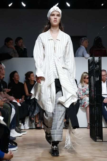 J.W Anderson Men & Women Spring Summer 2019 Collection At LFW 20